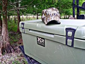 k2 ccoler, k2, yeti, grizzly, pelican, ice, cold, ice retention, rotomolded, mossy oak,